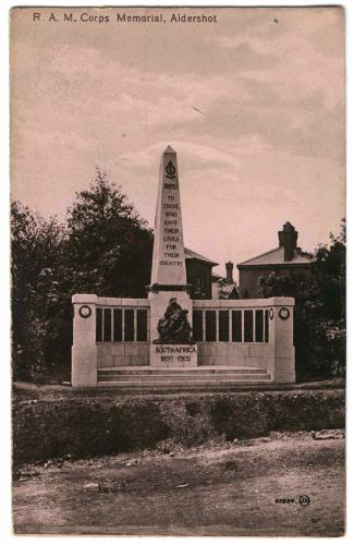 Royal Army Medical Corps Memorial, Aldershot